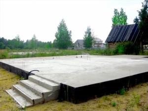плитный-фундамент